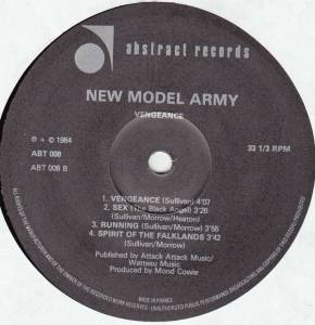 New Model Army: Vengeance (LP) - Bild 4