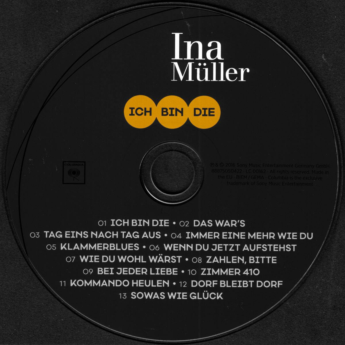 Ina Müller Ich Bin Die Cd 2016