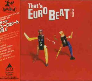 That's Eurobeat Vol. 6 - Cover
