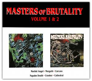 Masters Of Brutality - Volume 1 & 2 - Cover