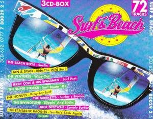 Cover - Super Stocks, The: Surf & Beach