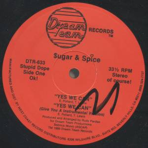 Cover - $ugar & Spice: Yes We Can