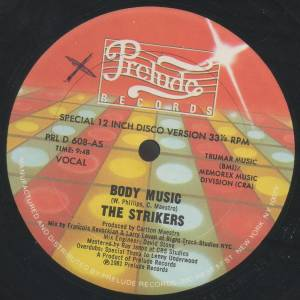 Cover - Strikers, The: Body Music