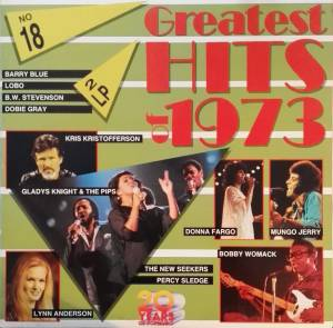Cover - Johnny Carver: Greatest Hits Of 1973