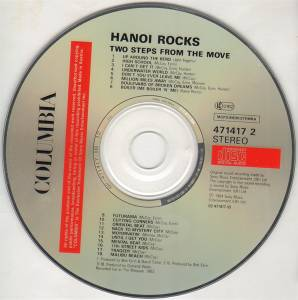 Hanoi Rocks: Two Steps From The Move (CD) - Bild 2