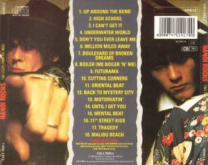 Hanoi Rocks: Two Steps From The Move (CD) - Bild 3