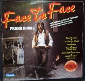 Frank Duval: Face To Face - Cover