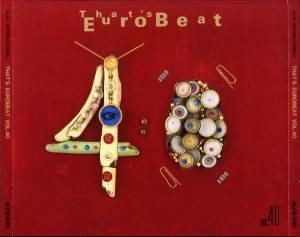 That's Eurobeat Vol. 40 - Cover