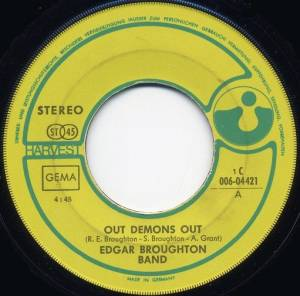 Cover - Edgar Broughton Band: Out Demons Out