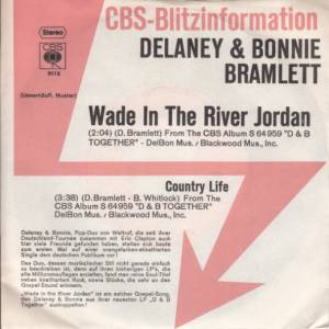 Delaney & Bonnie: Wade In The River Jordan - Cover