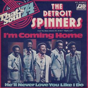 Cover - Detroit Spinners, The: I'm Coming Home