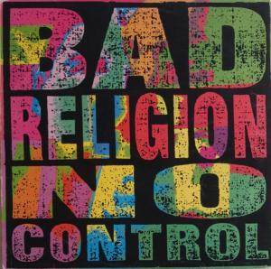 Bad Religion: No Control - Cover