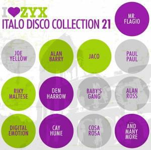 Cover - Paul Paul: I Love Zyx Italo Disco Collection 21