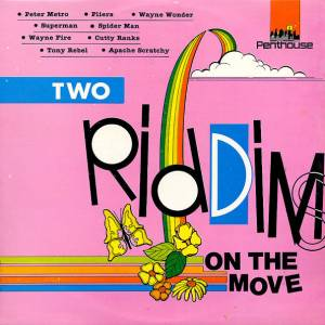 Two Riddims On The Move - Cover