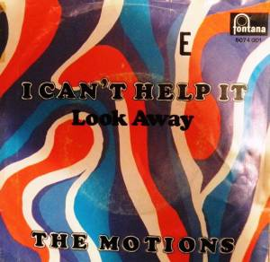 Cover - Motions, The: I Can't Help It