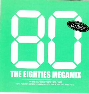 Cover - Ivan: 80 - The Eighties Megamix - Mixed By DJ Deep
