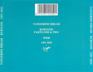 Tangerine Dream: Rubycon - CD, Re-Release