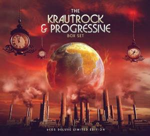 Krautrock & Progressive Box Set, The - Cover