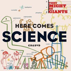 They Might Be Giants: Here Comes Science - Cover