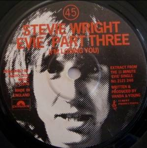 Cover - Stevie Wright: Evie - Part Three (I'm Losing You)