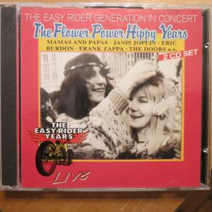 Cover - Jefferson Airplane: Easy Rider Generation In Concert The Flower Power Hippy Years, The