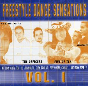 Cover - Mystery P.: Freestyle Dance Sensations Vol. 1