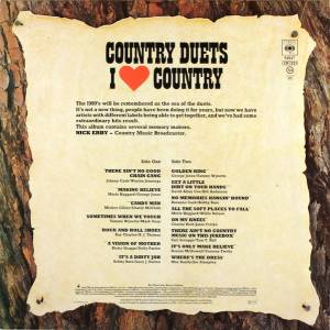Country Duets - I Love Country (LP) - Bild 2
