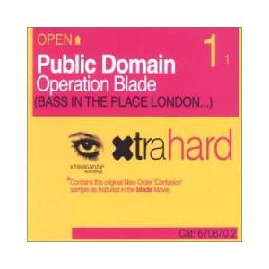 Public Domain: Operation Blade (Bass In The Place London...) - Cover