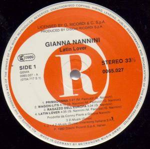 Gianna Nannini: Latin Lover (LP) - Bild 2