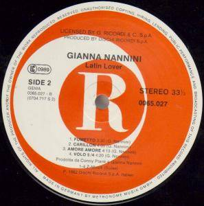 Gianna Nannini: Latin Lover (LP) - Bild 3