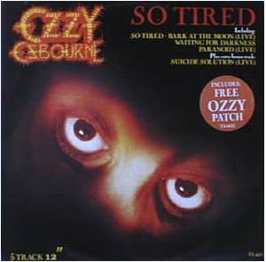Ozzy Osbourne: So Tired - Cover