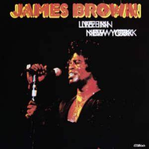 James Brown: Live In New York - Cover