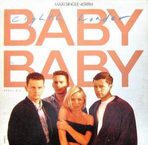Eighth Wonder: Baby Baby - Cover