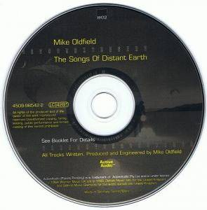 Mike Oldfield: The Songs Of Distant Earth (CD) - Bild 3