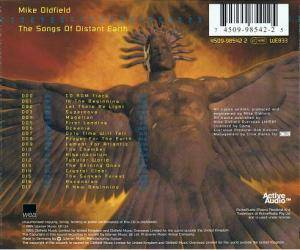 Mike Oldfield: The Songs Of Distant Earth (CD) - Bild 5