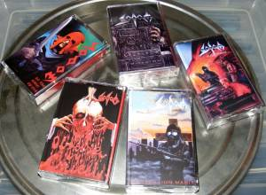 Sodom: Shrill Cries - Angel Dies (5-Tape) - Bild 2