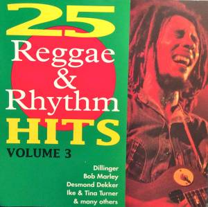 Cover - Robert Parker: 25 Reggae & Rhythm Hits Volume 3