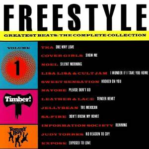 Freestyle Greatest Beats: The Complete Collection Vol. 01 - Cover