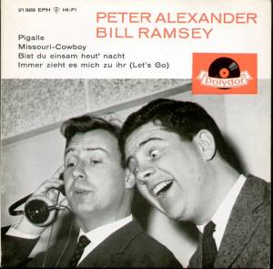 Cover - Peter Alexander & Bill Ramsey: Peter Alexander/Bill Ramsey