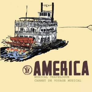 Cover - Mason Williams: America: Musical Travelogue - Carnet De Voyage Musical