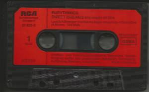 Eurythmics: Sweet Dreams (Are Made Of This) (Tape) - Bild 2