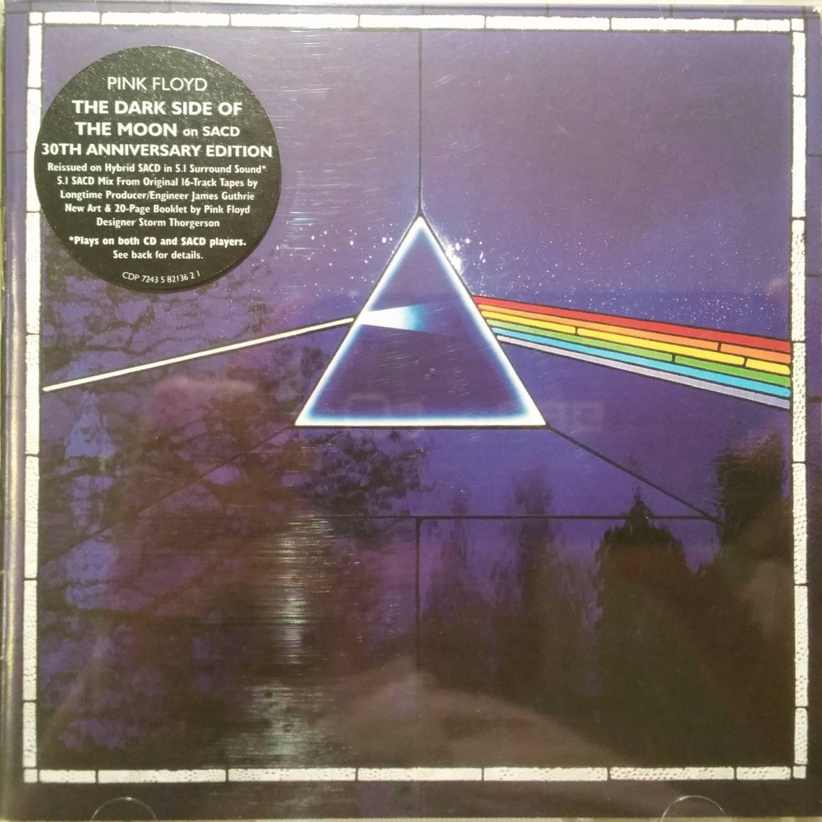 Pink Floyd: The Dark Side Of The Moon - SACD (2003, Re