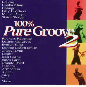 Cover - Glenn Jones: 100% Pure Groove 2
