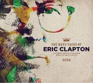 Many Faces Of Eric Clapton, The - Cover