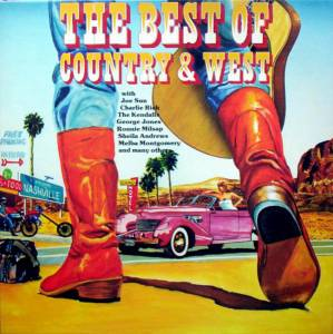 Cover - Gene Pitney & George Jones: Best Of Country & West, The