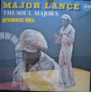 Cover - Major Lance: Greatest Hits