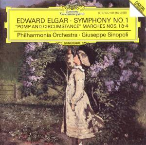 "Edward Elgar: Symphony No. 1 Op. 55 / ""Pomp And Circumstance"" Op. 39 Marches Nos. 1 & 4 - Cover"