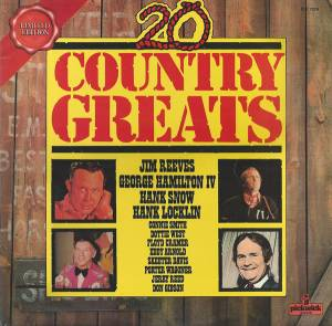 Cover - Dottie West: 20 Country Greats