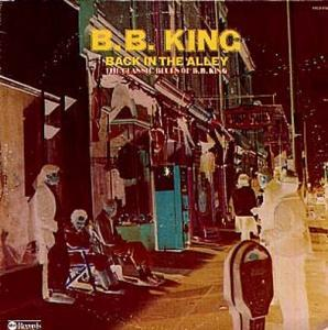 B.B. King: Back In The Alley - Cover