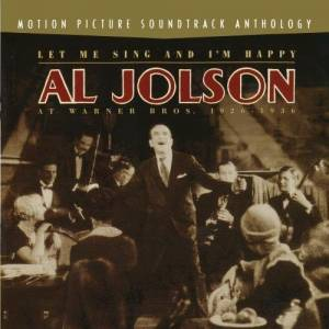 Cover - Al Jolson: Let Me Sing And I'm Happy